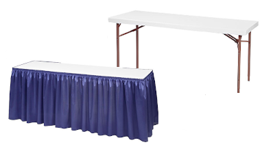 Tables - Draped