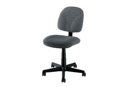 Gray Gaslift Chair