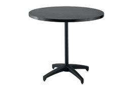 SoHo Black-Top Bistro Table - 42