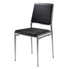 Marina Chair - Black Vinyl