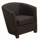 Key West Tub Chair - Black