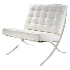 Madrid Chair - White Vinyl