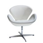 Swanson Swivel Chair - White