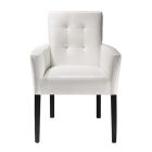 Meeting Chair - White Vinyl