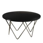Mesa Cocktail Table - Black Top