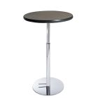 Madison Hydraulic Bar Table - Gray Acajou