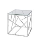Alondra End Table - Glass