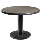 Madison Round Conference Table - Gray Acajou
