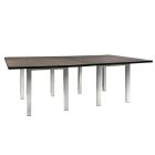 Madison 8' Conference Table - Gray Acajou