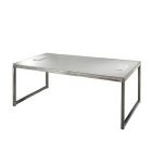 Sydney Powered Cocktail Table - White