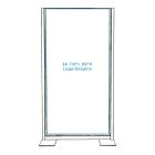 Freestanding Divider - with Opaque Graphic (Single-sided)