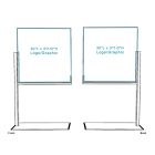 Furniture Divider with Opaque Graphic - Double-sided