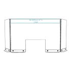 Countertop Divider - With Front Header Graphic