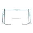 Countertop Divider - With Header and Side Panel Graphics